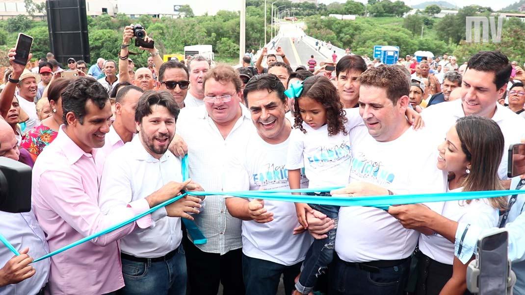 Inauguração Ponte Nova