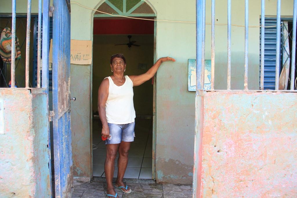Na casa de Matilde, na Prainha, água ultrapassou 1,3 m de altura