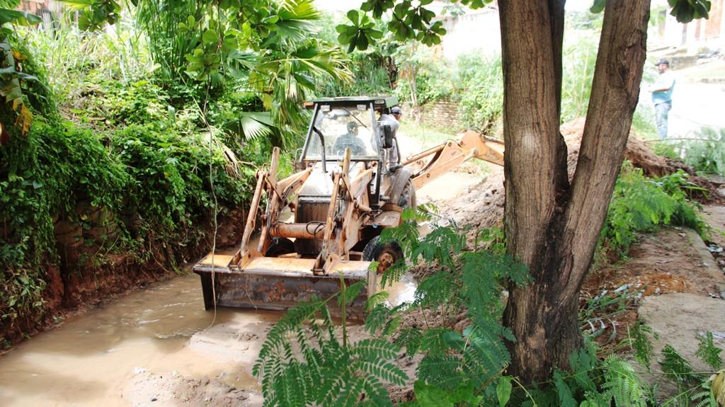 Prefeitura de Fabriciano segue com o reforço na limpeza e reparos de áreas mais atingidas