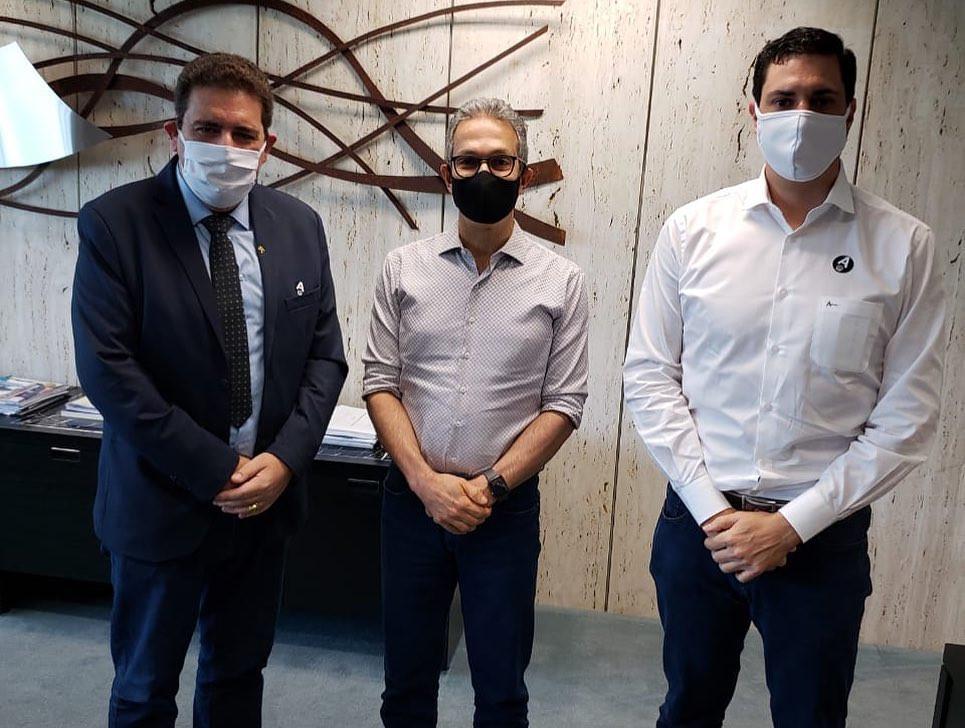 Prefeito Dr. Marcos Vinicius cumpriu a agenda para buscar entendimento com o Estado sobre combate ao  Coronavírus na cidade