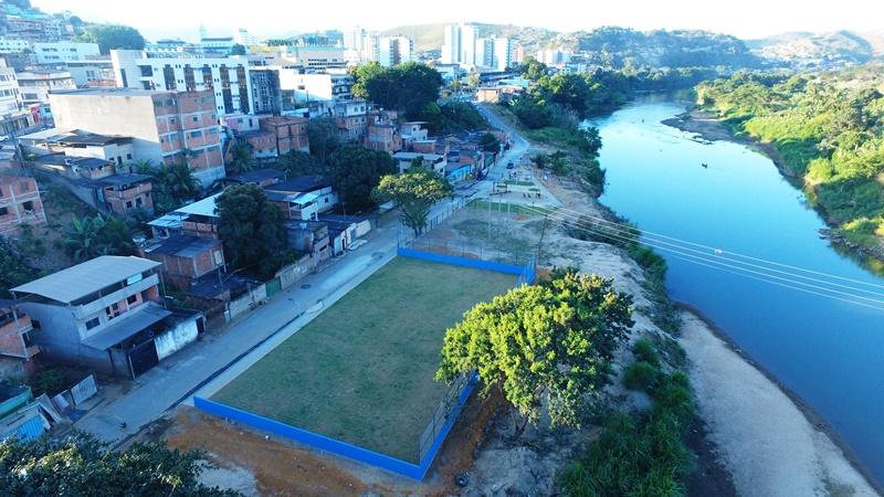 Defesa Civil de Fabriciano conquista 1º lugar nacional em prêmio de Boas Práticas com construção de praças em áreas ribeirinhas