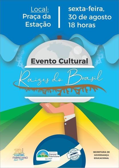 Fabriciano realiza encerramento do projeto Raízes do Brasil