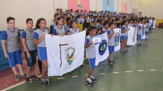 Jogos estudantis movimentam escolas da rede municipal em Coronel Fabriciano