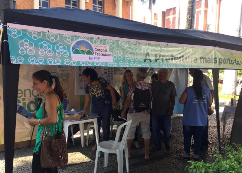 Prefeitura de Coronel Fabriciano lança Tenda Cidadã