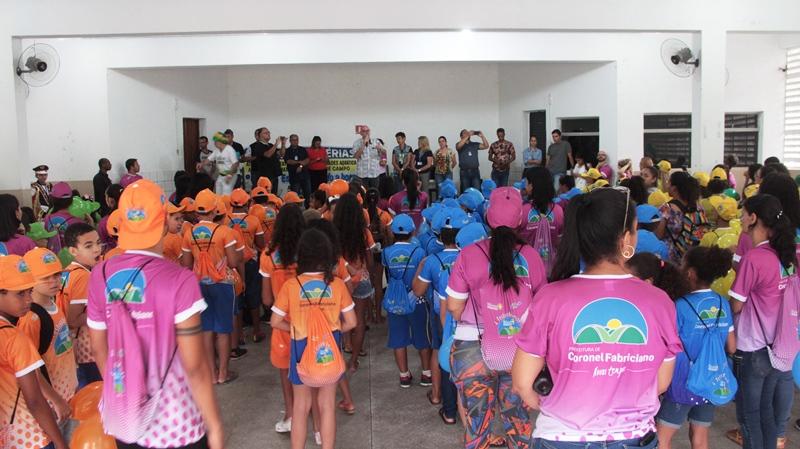 Prefeitura de Fabriciano promove festival de férias para alunos da rede municipal