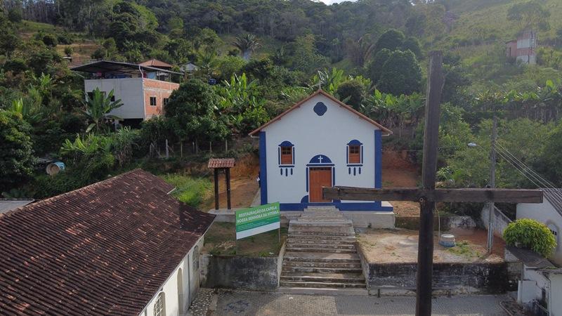 Prefeitura de Fabriciano restaura Capela Nossa Senhora da Vitória, na Serra dos Cocais