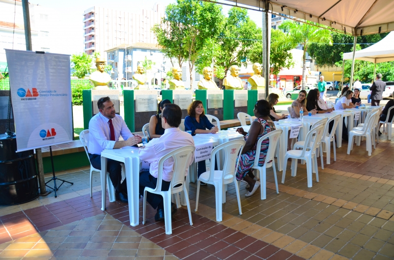 OAB na Praça é realizado em Fabriciano