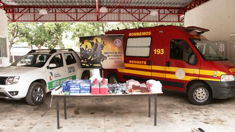 Prefeitura de Fabriciano e CODEMA entregam R$ 10 mil em equipamentos aos Bombeiros para combate a incêndios